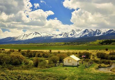 Photograph - Colorado Mountain Vista by L O C
