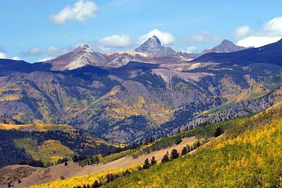 Colorado Mountains 1 Art Print by Marty Koch