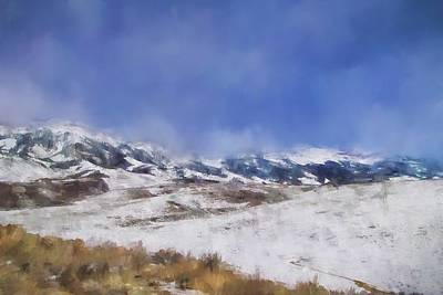 Pikes Peak Painting - Colorado Mountains 2 Landscape Art By Jai Johnson by Jai Johnson