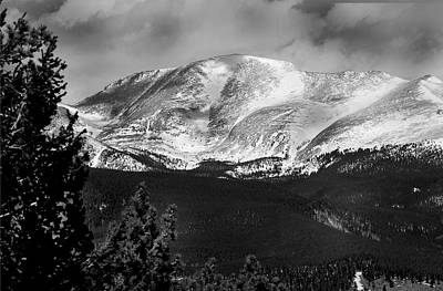 Colorado Mountains Art Print