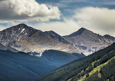 Photograph - Colorado Mountains by James Woody
