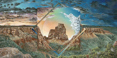 Colorado National Monument  Art Print by LE Williams