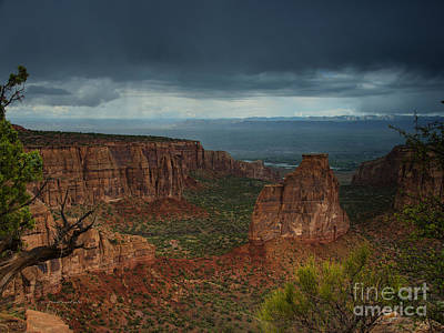 Photograph - Colorado National Monument Storm National Park by Schwartz Nature Images