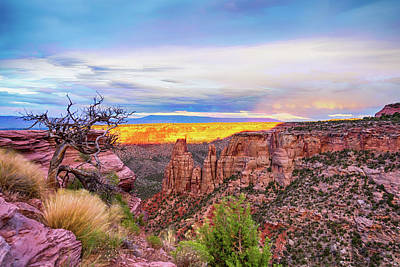 Photograph - Colorado National Monument Timed Stack by James BO Insogna