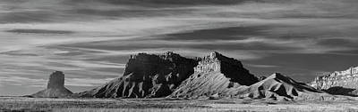 Photograph - Colorado Panorama II Bw by David Gordon