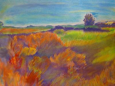 Painting - Colorado Prairie by Andrew Gillette