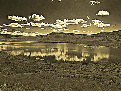Photograph - Colorado Reflections 1 In Orotone by Joshua House