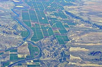 Colorado River Aerial Art Print by Kirsten Giving