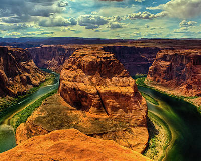 Photograph - Colorado River At Horseshoe Bend by Harry Strharsky