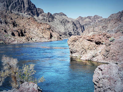 Photograph - Colorado River - Black Canyon - Entering The Canyon by Leslie Montgomery