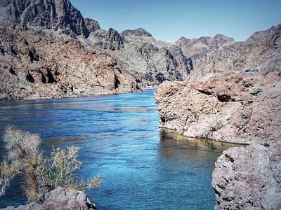 Photograph - Colorado River - Black Canyon - Entering The Canyon by Leslie Montgomery