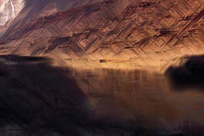Photograph - Colorado River Canyon by Deborah Hughes