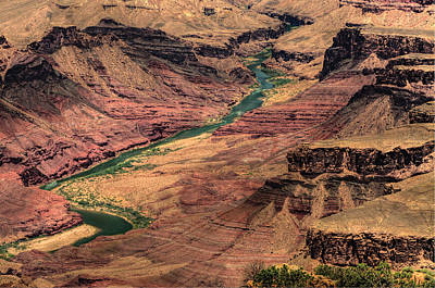 Photograph - Colorado River by Don Wolf