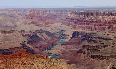 Photograph - Colorado River Flowing Though Grand Canyon - 10 by Christy Pooschke