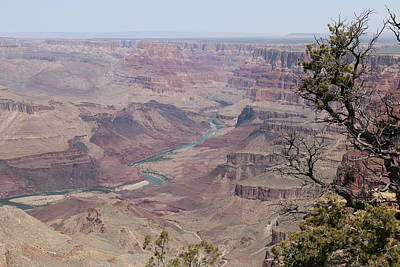 Photograph - Colorado River Flowing Though Grand Canyon - 6 by Christy Pooschke