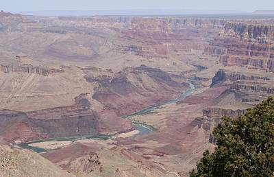 Photograph - Colorado River Flowing Though Grand Canyon - 7 by Christy Pooschke