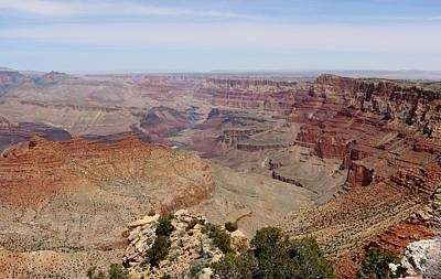 Photograph - Colorado River Flowing Though Grand Canyon - 9 by Christy Pooschke