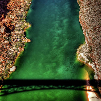 Photograph - Colorado River From The Navajo Bridge by Roger Passman