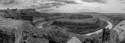 Colorado River Gooseneck Pano Art Print