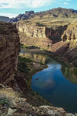 Colorado River Grand Canyon National Park Art Print