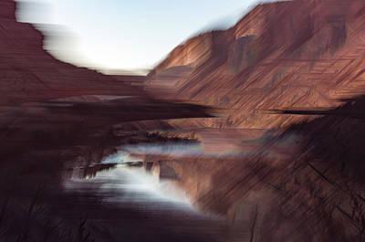 Photograph - Colorado River In Winter by Deborah Hughes