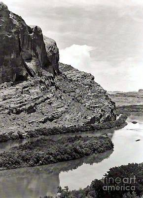 Art Print featuring the photograph Colorado River by Juls Adams