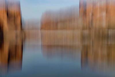 Photograph - Colorado River Portal Abstract by Deborah Hughes