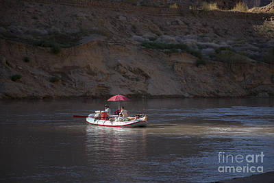 Photograph - Colorado River Rafting by Jim West