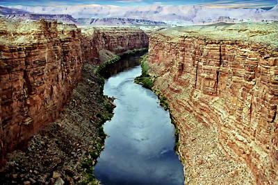 Photograph - Colorado River Scenic by Anthony Dezenzio