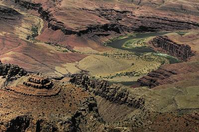 Photograph - Colorado River Thrugh The Grand Canyon by Don Wolf