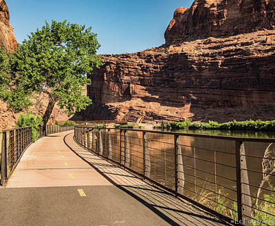 Photograph - Colorado River Walk, Moab, Ut by Wendy Carrington