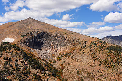 Photograph - Colorado Rockies National Park Mountains 2 by Toby McGuire