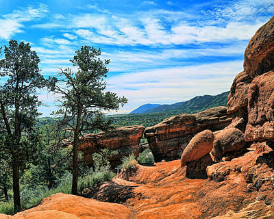 Photograph - Colorado Rocks by John Bushnell
