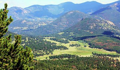 Photograph - Colorado Rocky Mountain View by Sheila Brown