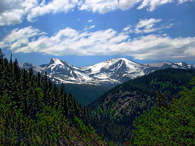Photograph - Colorado Rocky Mountains by Anthony Dezenzio