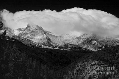 Photograph - Colorado Rocky Mountains Continental Divide by James BO Insogna