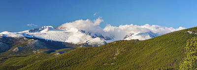 Photograph - Colorado Rocky Mountains National Park Panorama by James BO Insogna
