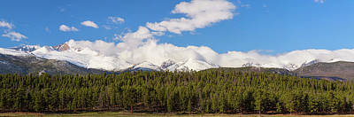 Photograph - Colorado, Rocky Mountains Panorama Views by James BO Insogna