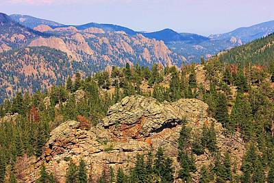 Art Print featuring the photograph Colorado Rocky Mountains by Sheila Brown