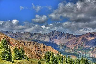Photograph - Colorado Rocky Mountains by Tony Baca
