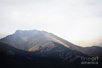 Photograph - Colorado Rustic Mountain Peak Clouds Landscape by Andrea Hazel Ihlefeld