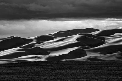 Colorado Sand Dunes Original by Mark Courage