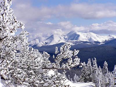 Colorado Sawatch Mountain Range Original by Carol Milisen