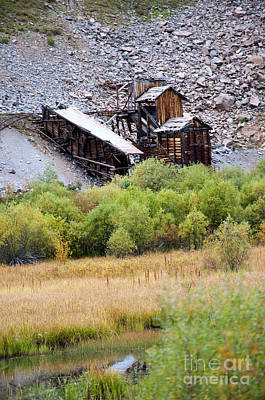 Photograph - Colorado Silver Mine  by Brenda Kean