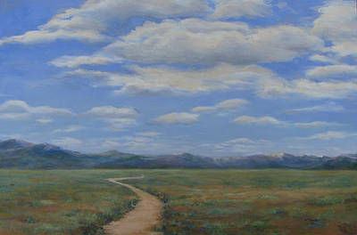 Houston Western Painting - Colorado Sky by Susan Thacker