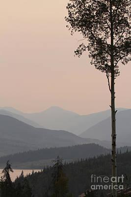Photograph - Colorado Smokey Morning by Paula Guttilla
