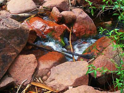 Painting - Colorado Springs Area Digital Oil #38 by Chris Flees