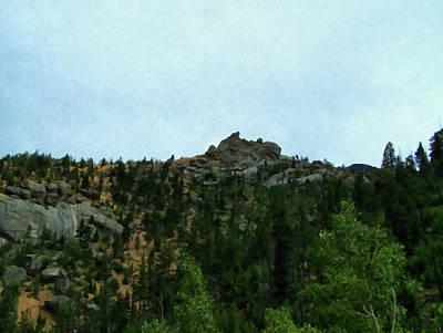 Painting - Colorado Springs Area Digital Oil #73 by Chris Flees