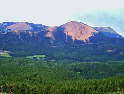 Impressionist Landscapes - Colorado Springs area Digital Oil #83 by Chris Flees