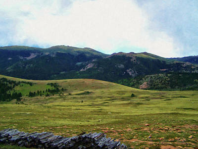 Painting - Colorado Springs Area Digital Oil #84 by Chris Flees